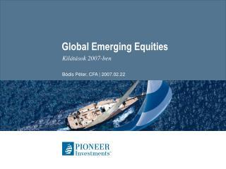 Global Emerging Equities