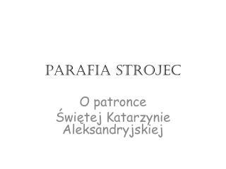 Parafia strojec