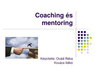 Coaching és mentoring