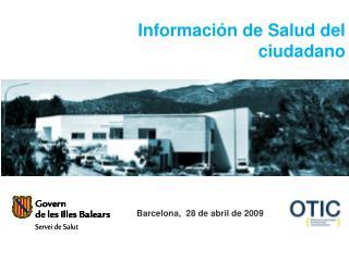 Información de Salud del ciudadano