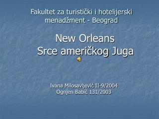 Fakultet za turistički i hotelijerski menadžment - Beograd