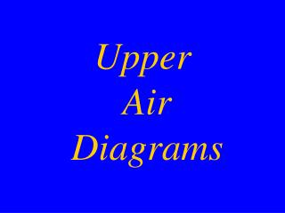 Upper  Air  Diagrams