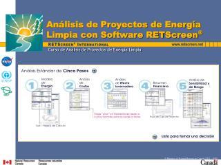 Curso de An lisis de Proyectos de Energ a Limpia