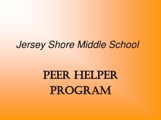 Jersey Shore Middle School