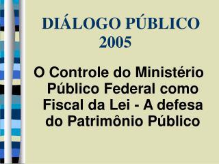 1 - O Minist rio P blico Federal