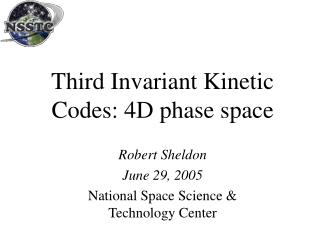 Third Invariant Kinetic Codes: 4D phase space