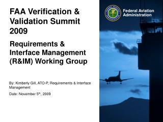FAA Verification & Validation Summit 2009