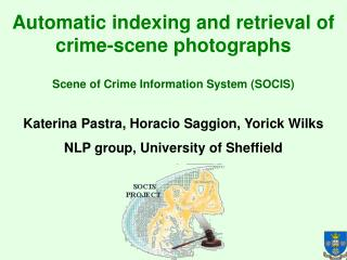 Automatic indexing and retrieval of crime-scene photographs