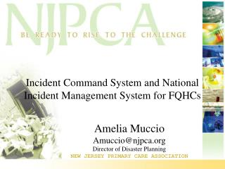 Incident Command System and National Incident Management System for FQHCs