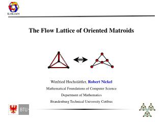 The Flow Lattice of Oriented Matroids