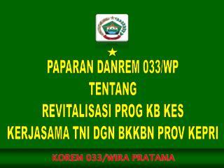 KOREM 033/WIRA PRATAMA