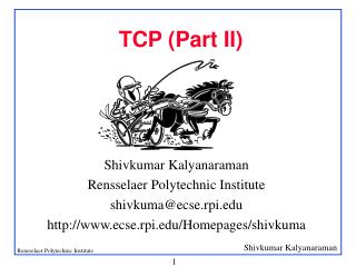 TCP (Part II)
