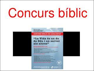 Concurs bíblic