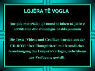 LOJ�RA T� VOGLA