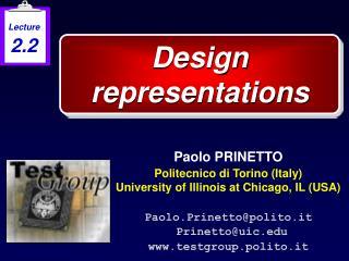 Design representations