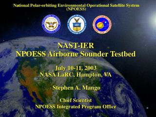 National Polar-orbiting Environmental Operational Satellite System (NPOESS)