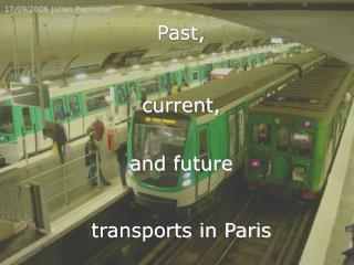 transports in Paris