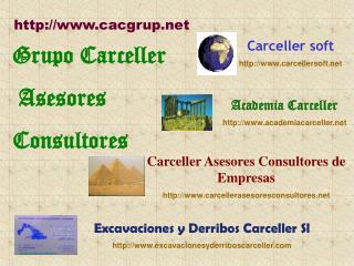 Grupo Carceller  Asesores  Consultores