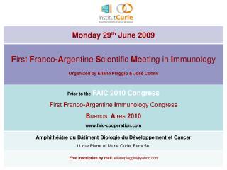 Ambassade de la République  Argentine en France