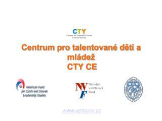 Centrum pro talentované děti a mládež  CTY CE