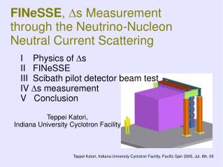 FINeSSE ,  D s Measurement through the Neutrino-Nucleon Neutral Current Scattering