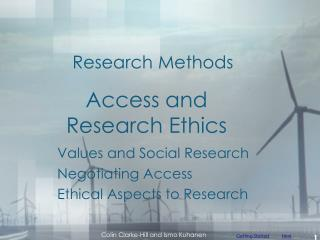 Access and Research Ethics