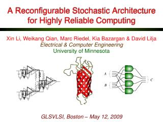 A  Reconfigurable  Stochastic Architecture for Highly Reliable Computing