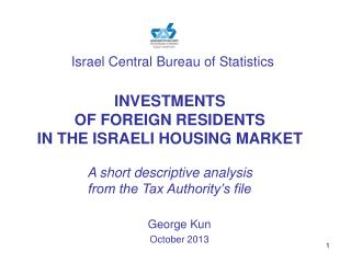 Israel Central Bureau of Statistics