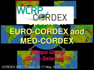 Update on  EURO-CORDEX and MED-CORDEX