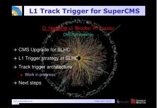 L1 Track Trigger for SuperCMS