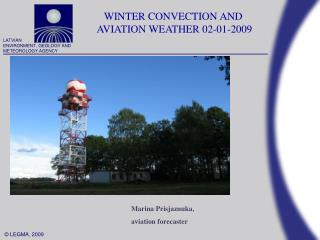 WINTER CONVECTION  AND  AVIATION WEATHER  02 -01- 2009