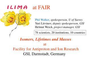 ILIMA  at FAIR