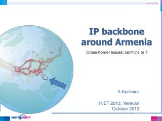 IP backbone around Armenia