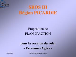 SROS III Région PICARDIE