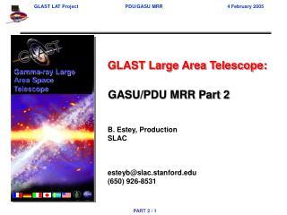GASU/PDU MRR Part 2