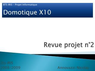 Revue projet n°2
