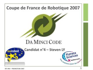 Coupe de France de Robotique 2007