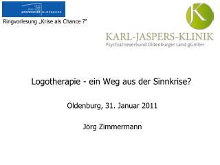 Logotherapie - ein Weg aus der Sinnkrise?