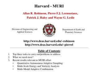 Harvard - MURI