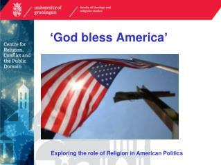 ' God bless America '