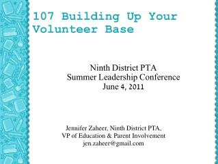 107 Building Up Your Volunteer Base