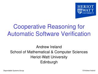 Cooperative Reasoning for Automatic Software Verification