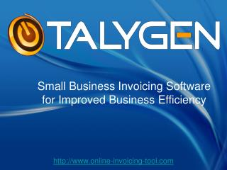 Small Business Invoicing Software for Improved Business Effi