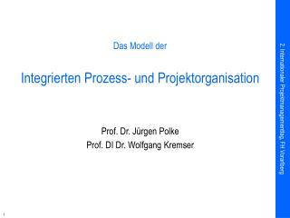 Das Modell der Integrierten Prozess- und Projektorganisation