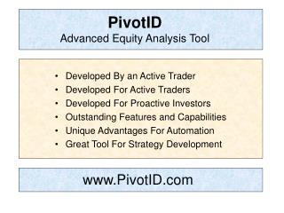 PivotID  Advanced Equity Analysis Tool