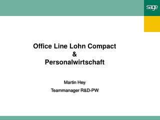 Office Line Lohn Compact & Personalwirtschaft