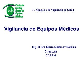 Vigilancia de Equipos Médicos