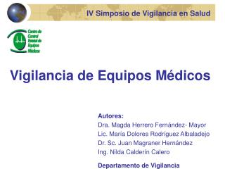 IV Simposio de Vigilancia en Salud