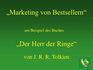 """""""Marketing von Bestsellern"""""""