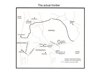 The actual frontier